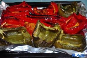 Slata Mechouia | Tunisian Grilled Pepper Salad 4