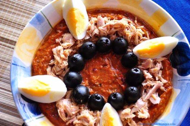 Slata Mechouia   Tunisian Grilled Pepper Salad RECIPE