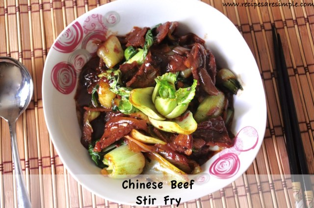 Chinese Beef Stir Fry with Vegetables