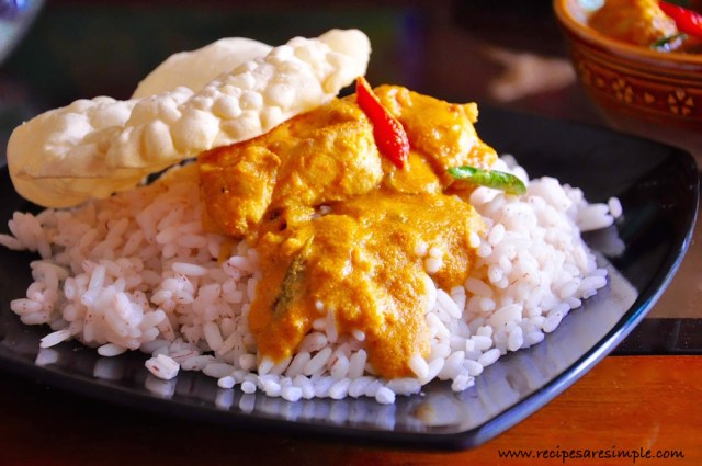 Malabar Fish Curry with Coconut Tamarind and Tomato video