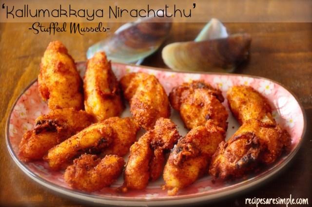 Stuffed Mussels | Kallumakkaya Nirachathu