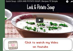 leek and potato youtube video