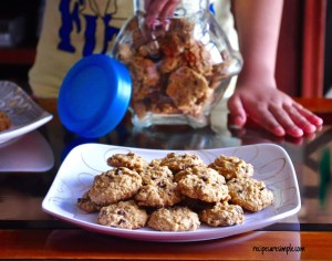 oatmeal chocolate chip cookies video recipe