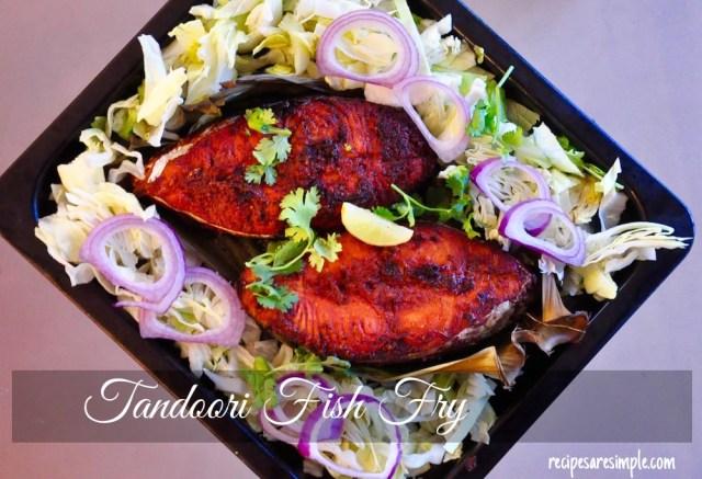 tandoori fish fry