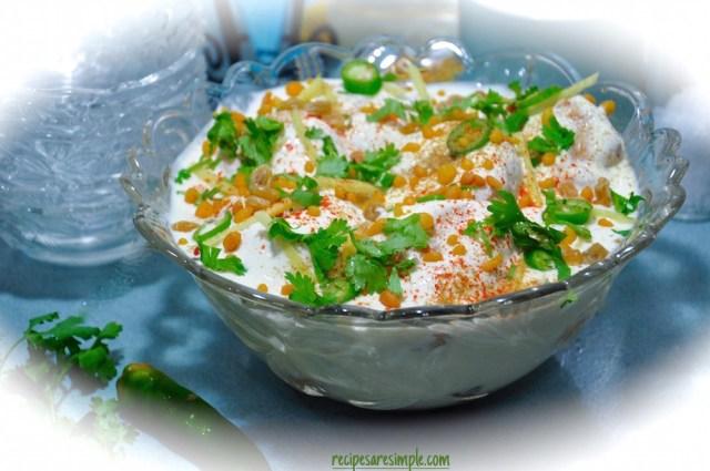Dahi Vada / Thayir Vada recipe