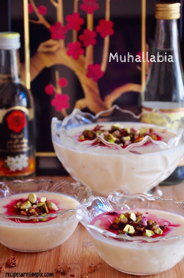 Muhallabia | Light Middle Eastern Milk Pudding