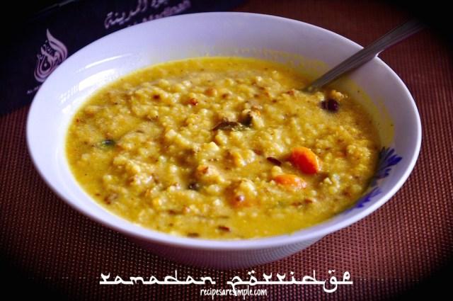 ramadan porridge