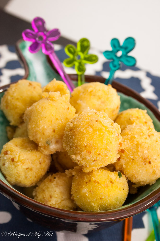 Fried Cheese Balls-8