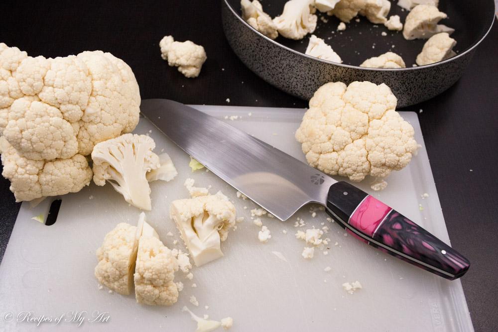 Creamy Roasted Cauliflower Chowder