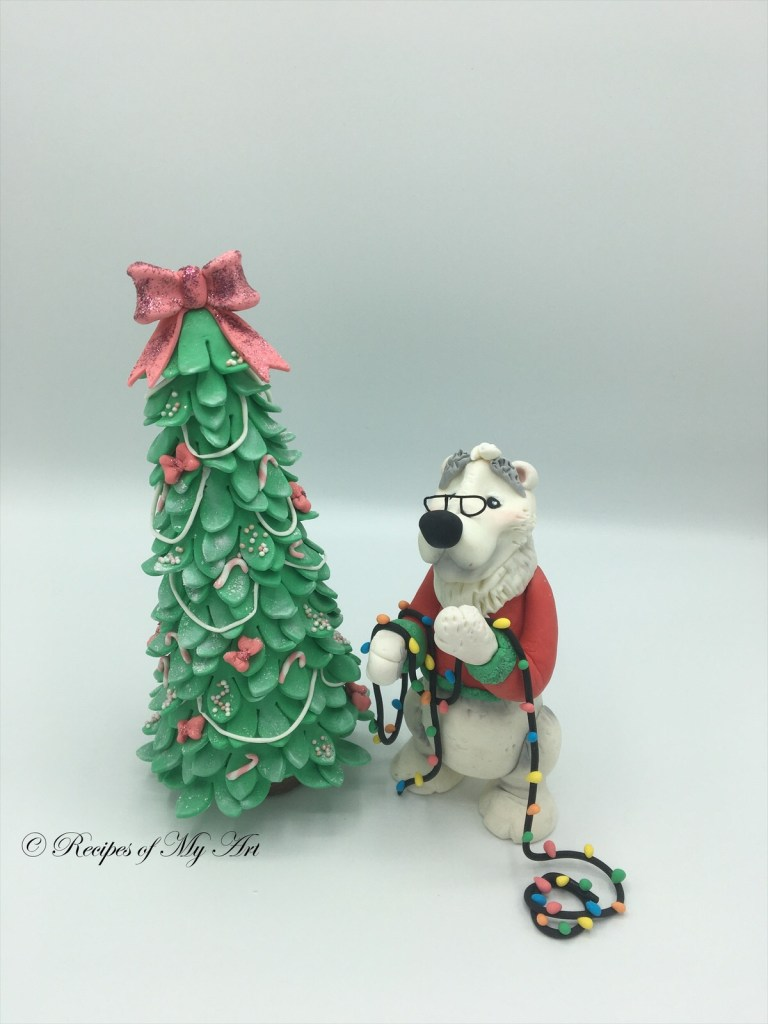 Christmas Sugarcraft Cake Toppers