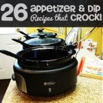 Slow Cooker Dip Appetizer Recipes