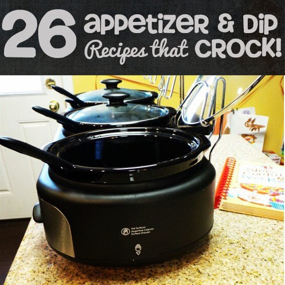 Slow Cooker Dip Appetizer Recipes