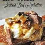 Sherried Beef Manhattan Crockpot