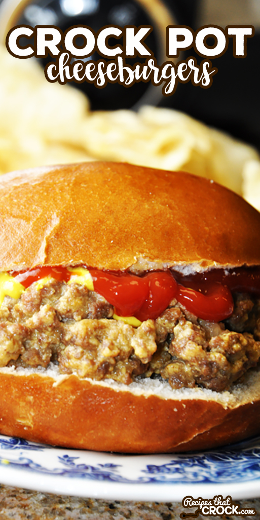These Crock Pot Cheeseburger Sandwiches are an easy tried and true favorite that tastes similar to White Castle burgers. This recipe is a great simple weeknight dinner and is easily doubled for parties. via @recipescrock