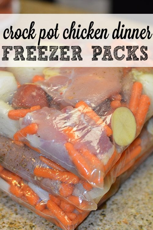 Crock Pot Freezer Packets