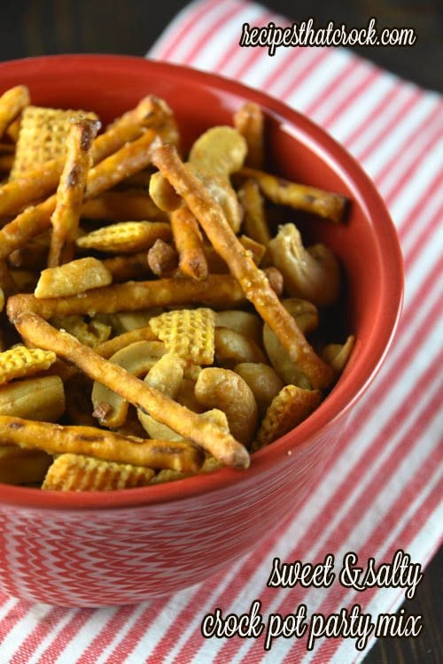Sweet Salty Party Mix
