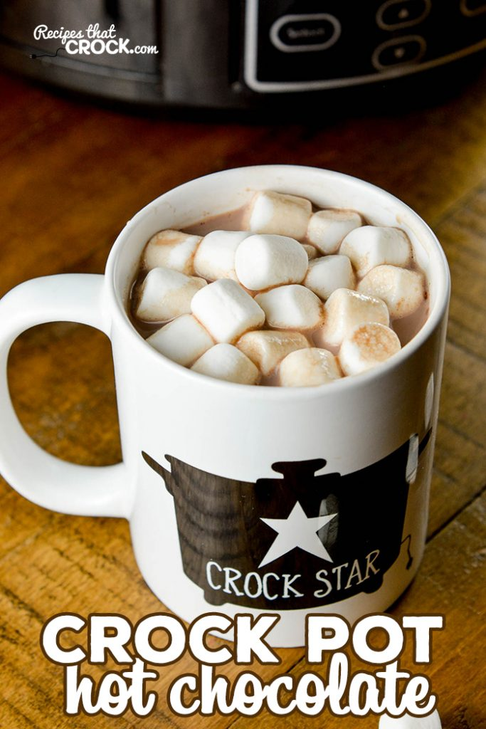 Are you looking a simple but oh-so delicious hot chocolate recipe? Look no further. This is The BEST Crock Pot Hot Chocolate.