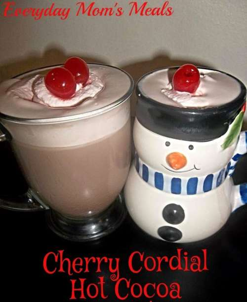cherry cordial hot cocoa