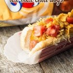 Crock Pot Tex-Mex Chili Dogs are a great way to switch up your traditional hot dog and the perfect crock pot recipe for your next party.