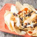 Crock Pot Chicken Ranch Nachos