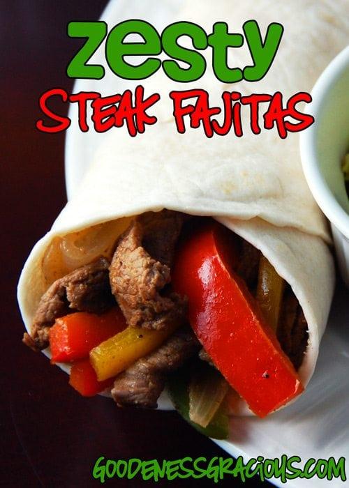 Zesty-Steak-Fajitas