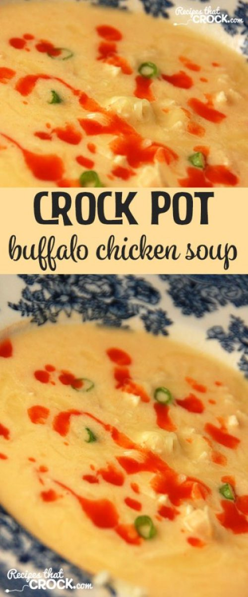 If you love buffalo chicken wings, you HAVE to try this Buffalo Chicken Soup!