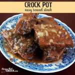 Easy Crock Pot Round Steak