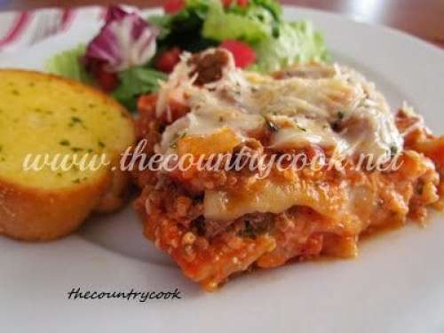 Lasagna (Crock Pot) thecountrycook