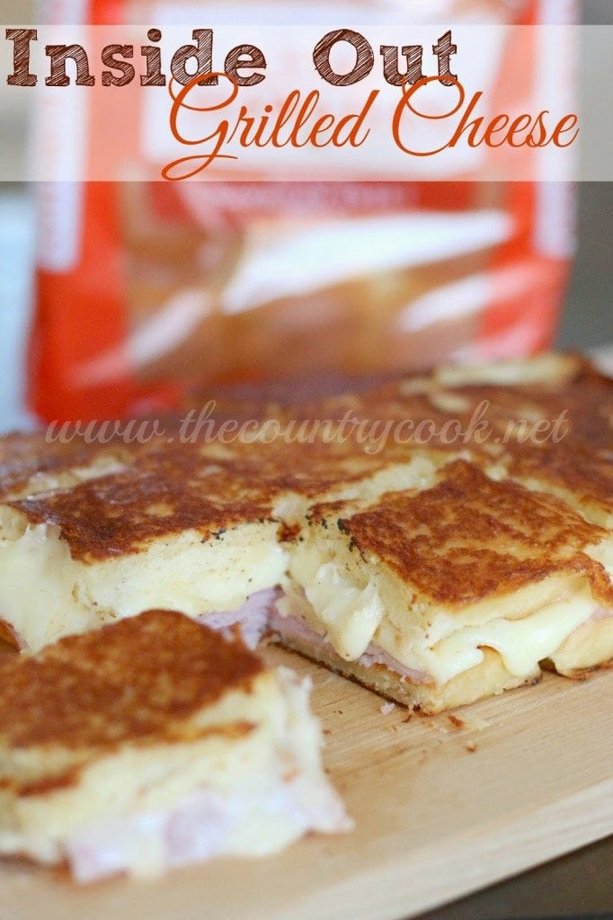 Inside Out Grilled Cheese, graphics (copyright, www.thecountrycook.net)