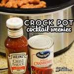Crock Pot Cocktail Weenies