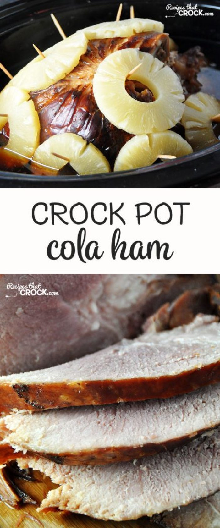 This Cola Crock Pot Ham is super easy and has an amazing flavor!