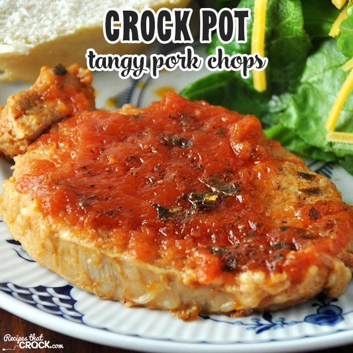 Do you love a good tangy recipe? If so, you don't want to miss these Tangy Crock Pot Pork Chops