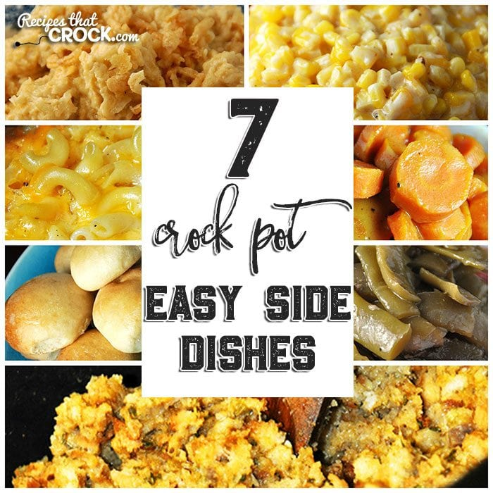These 7 Easy Side Dishes free up my stove top and oven space and don't heat up my kitchen!