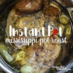 Do you love Crock Pot Mississippi Pot Roast but wish you had a Instant Pot recipe for it? Here is our Mississippi Pot Roast Electric Pressure Cooker Version!