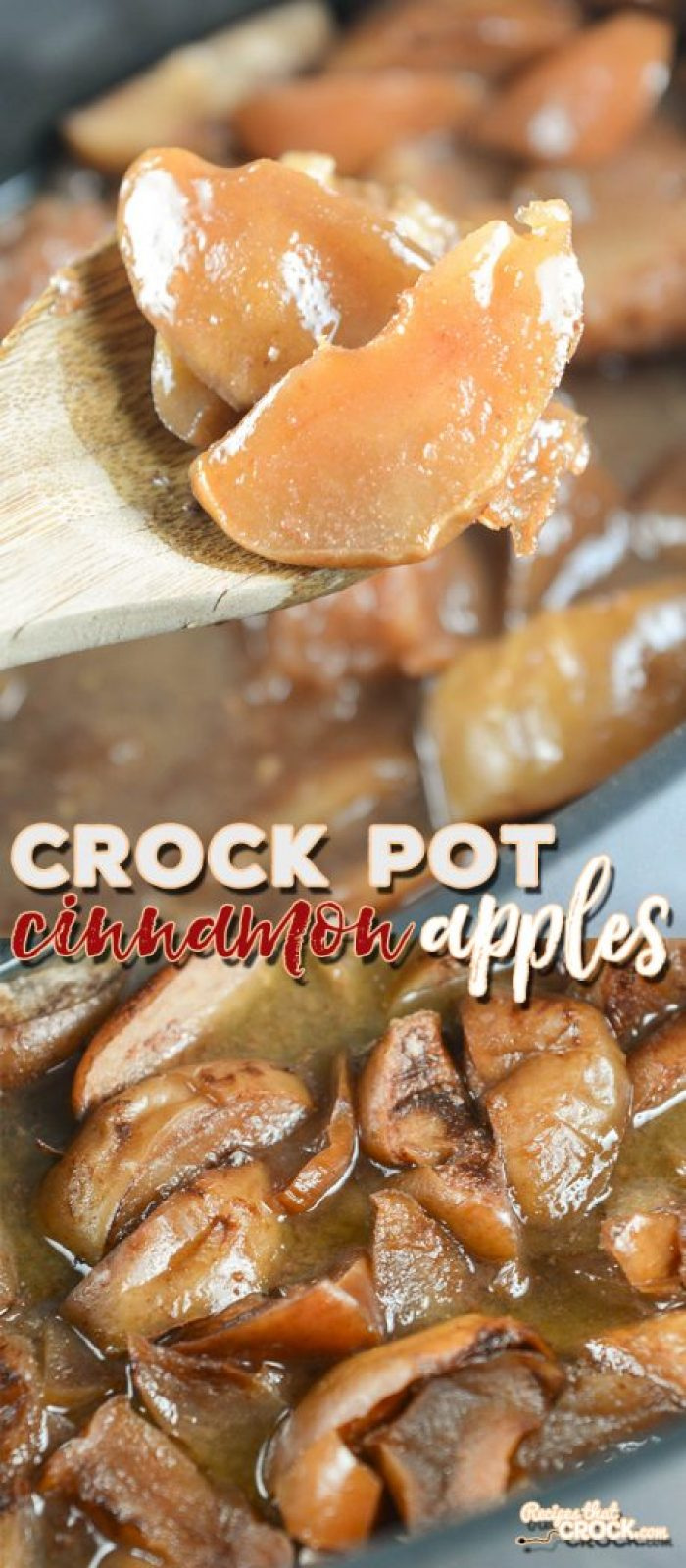 Are you looking for a great fresh apple recipe? Our Crock Pot Cinnamon Apples are the perfect family dinner side dish recipe!