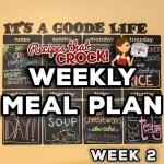 Weekly Meal Plan – Crock Pot {Week 2}