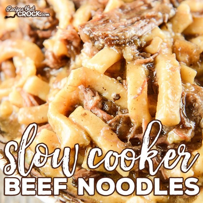 Are you looking for an easy beef and noodles recipe? Our Slow Cooker Beef Noodles are simple to throw together and have that amazing old fashioned comfort food flavor. #Reames # HomemadeGoodness #ad