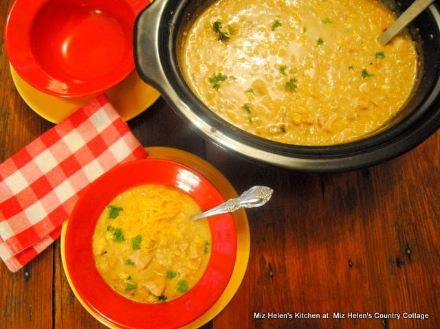 Green Chili Chicken and Rice Soup