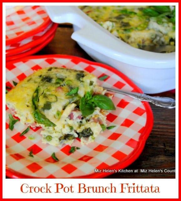 Crock Pot Brunch Frittata