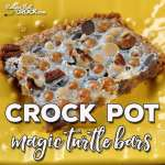 Crock Pot Magic Turtle Bars