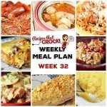 Meal Planning: Weekly Crock Pot Menu 32