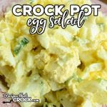 Are you looking for an easy way to make egg salad? Our no-peel method takes all the work out of making this simple Crock Pot Egg Salad.