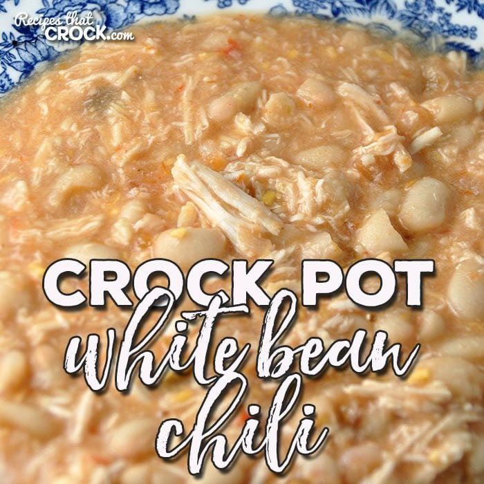 If you are looking for a new, delicious chili recipe that is super delicious, I have a treat for you! ThisCrock Pot White Bean Chili is awesome!