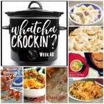 Crock Pot Ham and Cheese Pasta Bake – WCW Week 40