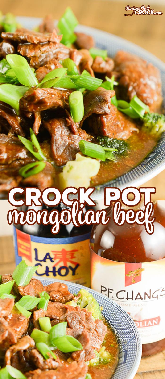 Easy Crock Pot Mongolian Beef - Recipes That Crock!