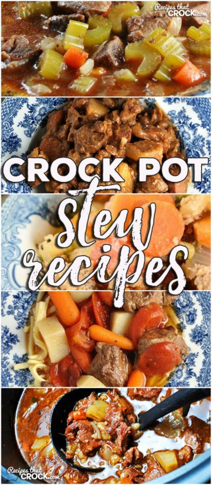 This week for our Friday Favorites we have some delicious Crock Pot Stew Recipes for you, including Crock Pot Beef Stew, Crock Pot Chuck Wagon Stew, Crock Pot Italian Hobo Stew, Crock Pot Savory Beef Stew and Easy Crock Pot Beef Stew!
