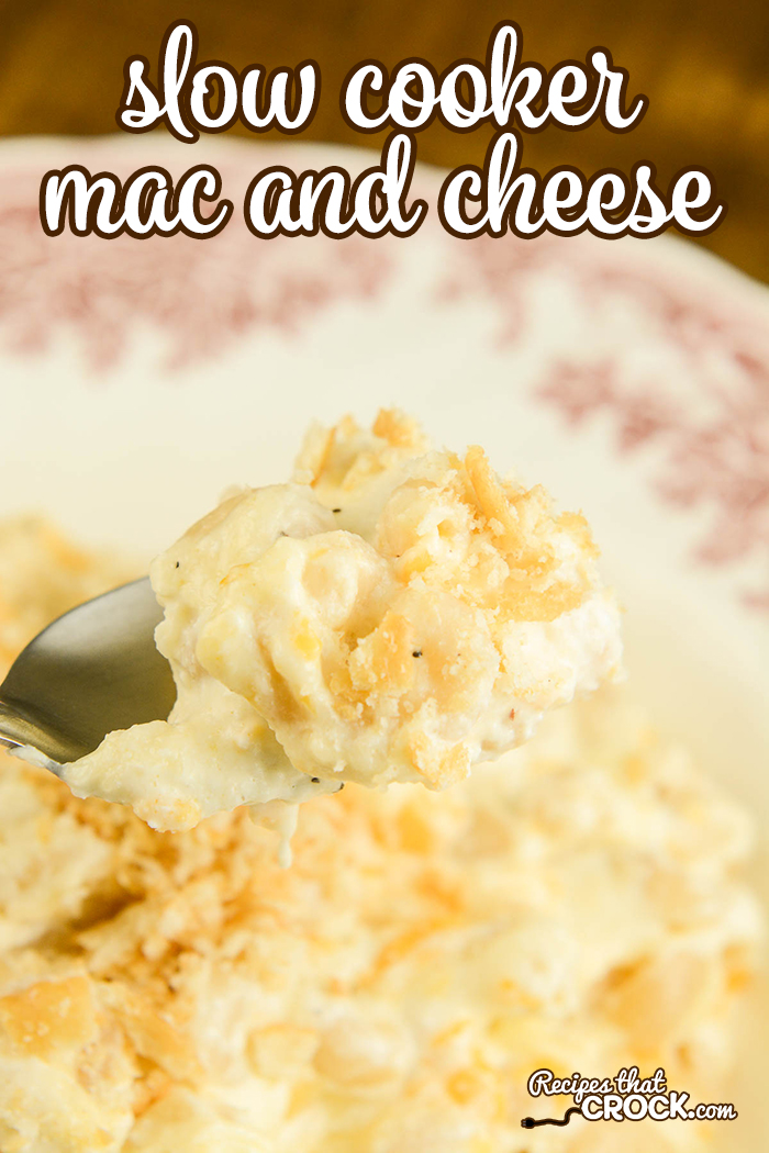Are you looking for a decadent Slow Cooker Mac and Cheese recipe? This reader requested recipe is rich, creamy and the ULTIMATE comfort food.