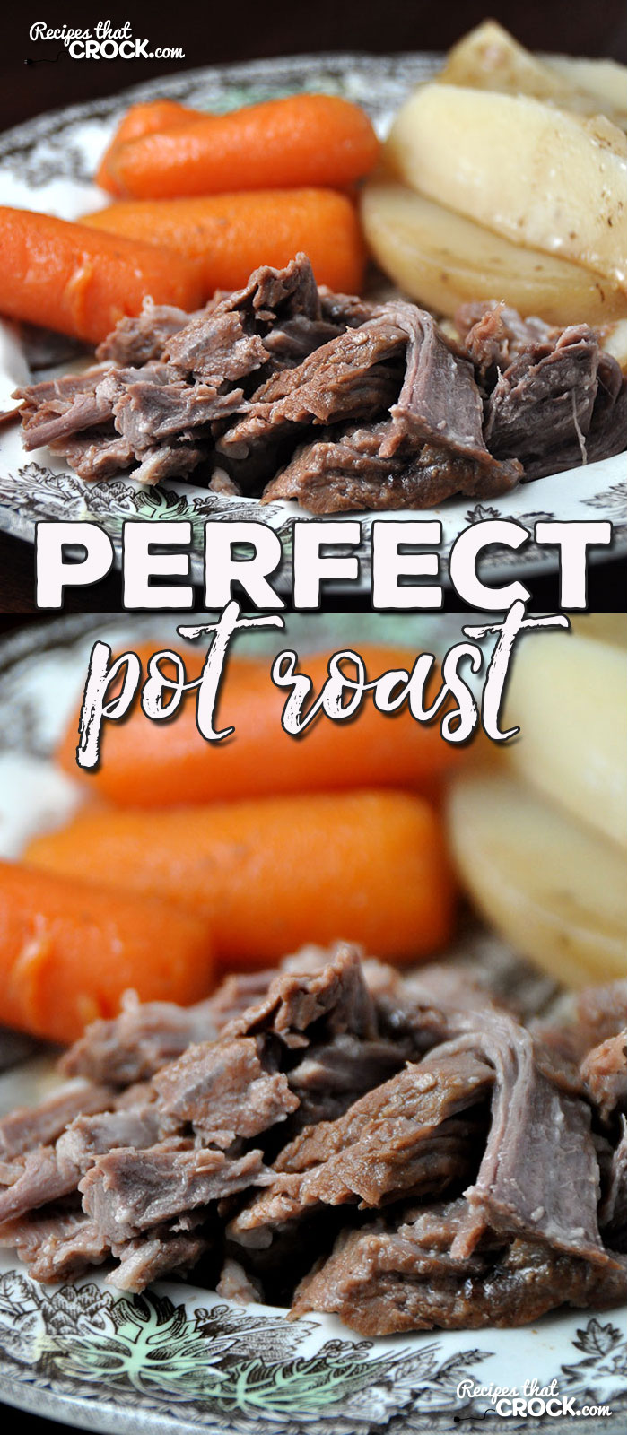 Do you love our Perfect Crock Pot Roast, but want to make it in your oven? Well, you are in luck! This Perfect Pot Roast is Momma's recipe for the oven!
