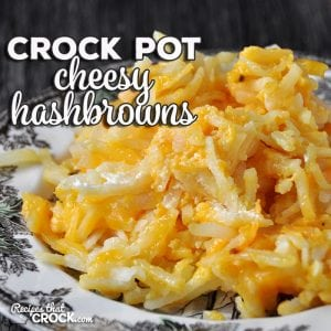 Whether you want a treat at home or want to a take an outstanding recipe to a cookout, this Crock Pot Cheesy Hashbrowns recipe is sure to fit the bill!