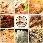 Meal Planning: Weekly Crock Pot Menu 66